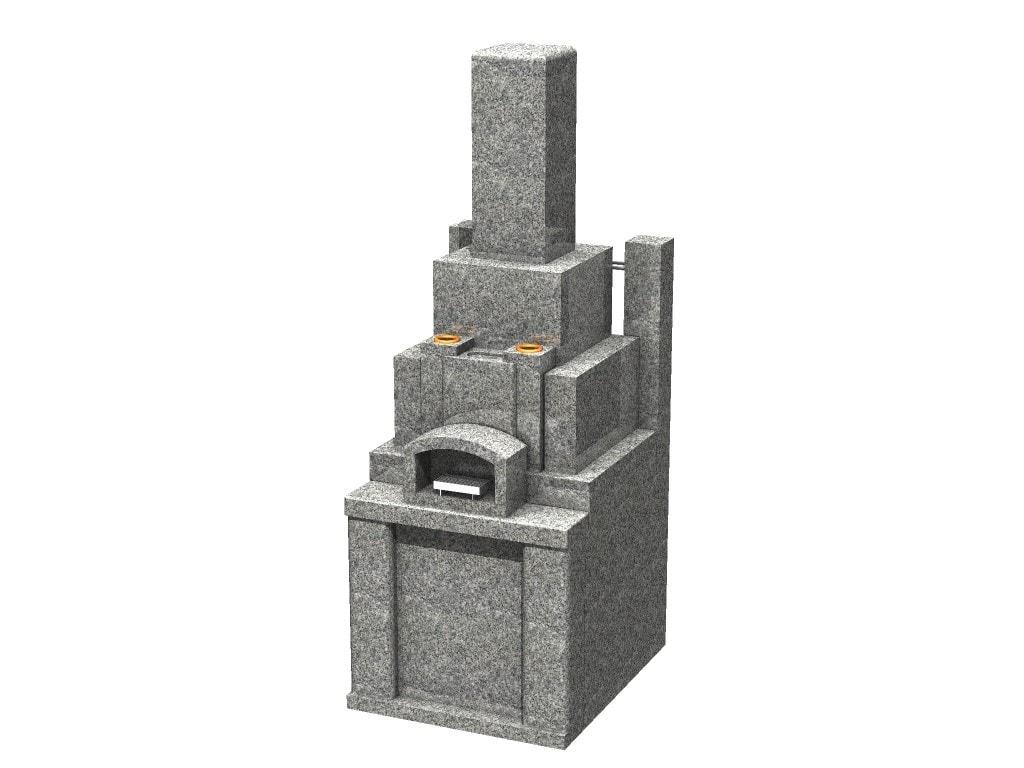CG 外柵・石碑:青小目石
