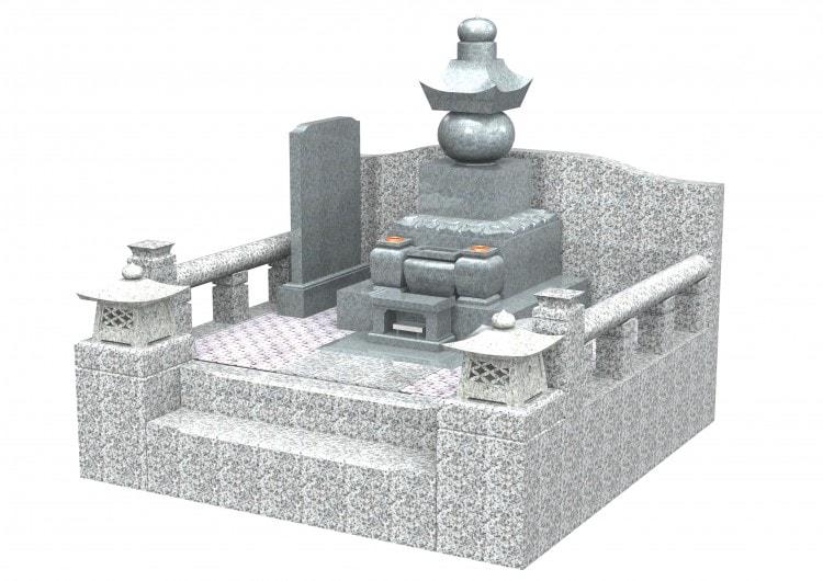 ③鎌倉型五輪塔(庵治)右斜